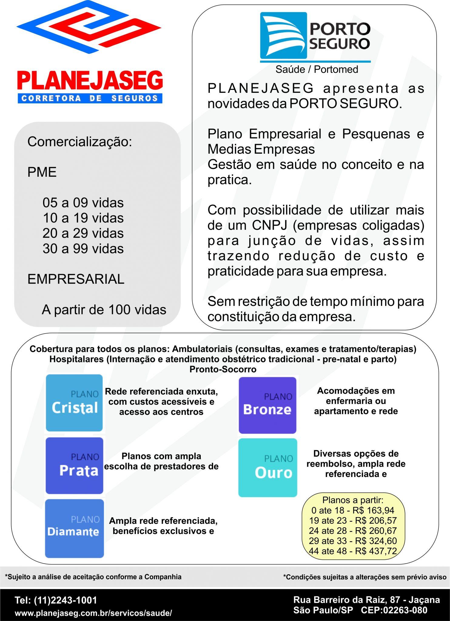 Saude PME e Empresarial - Porto Seguro